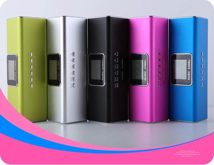 New Arrival MAUK5B original Music Angel Sound Box Portable Mini stereo Speaker for Mp3 Mp4 PC phone(China (Mainland))