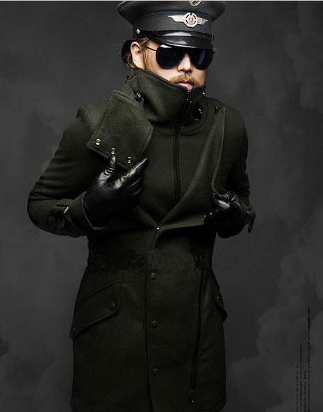 New-Men-Punk-Fashion-Multi-Zippers-Turtleneck-Cool-Warm ...