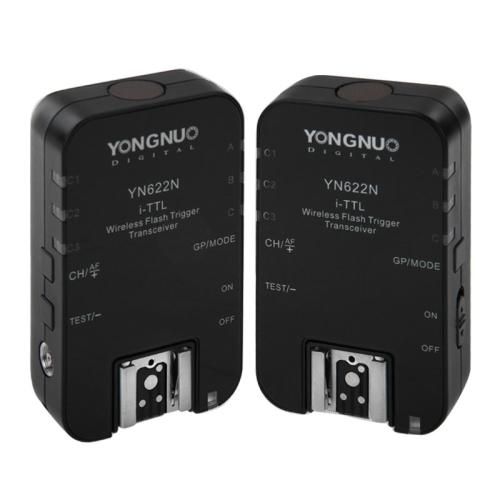 2 Transceivers Yongnuo TTL Transceiver YN-622C YN622 Wireless i-TTL Flash Trigger Nikon EOS DSLR Speedlits Free
