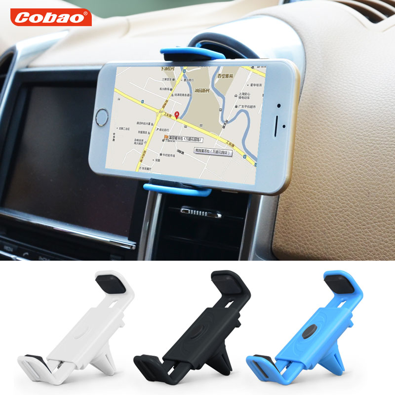 Universal car air vent phone holder Cobao mobile phone mount stand holder smartphone support cell phone holder iphone samsung(China (Mainland))