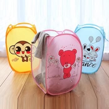 Laundry Basket Cesto De Roupa Suja Laundry Bag Laundry Hamper Basket For Toys Clothes Portable Clothing Storage BA6009(China (Mainland))