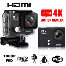 """HOT Sell Pro4 WIFI Camera 4K 30FPS 2.0"""" LCD Ultra-HD 1080P 60FPS 14MP Sport Video Waterproof Camera Support for HDMI AV-Out FPV(China (Mainland))"""