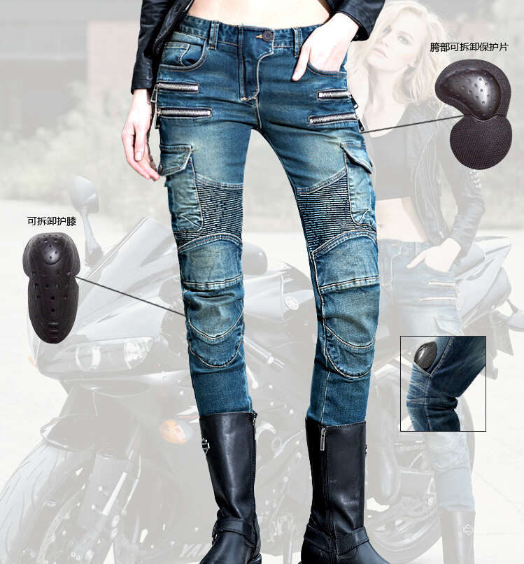 2016 The newest Uglybros MOTORPOOL UBS11 leisure motorcycle ms locomotive vintage jeans blue jeans women pants