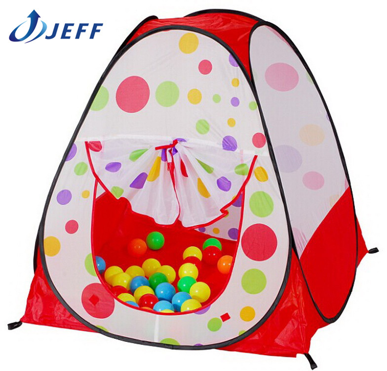 2015 hot Children Kids Play Tents Outdoor Garden Folding Portable Toy Tent Pop Up Multicolor Independent House(China (Mainland))