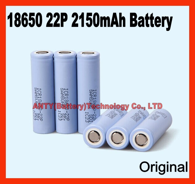 SAMSUNG 18650 Battery 22P 3.7v Battery 500pcs/Lot ICR 10C Rate 3.7v Lithium Battery Rechargeable Battery Fedex Free Shipping(China (Mainland))