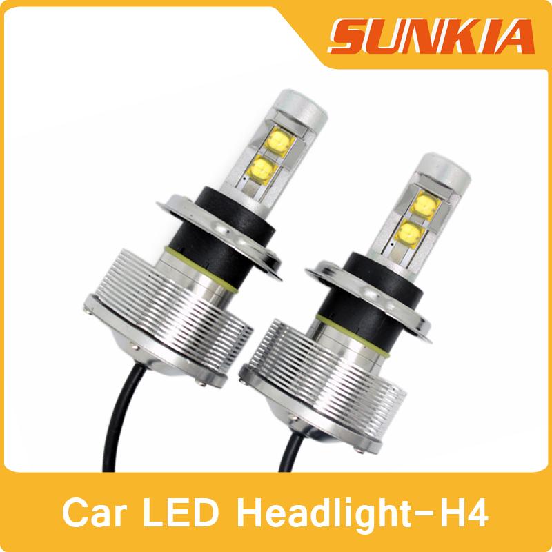 Система освещения SUNKIA H4 3000lm ETI 30w 12/24v DC система освещения brand new 33w h7 3000lm cree