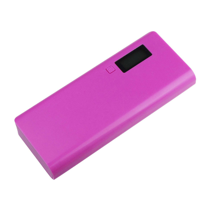 image for Hot-sale 15*6*2.3cm Gifts USB 5V 2A 18650 Power Bank Battery Box Charg