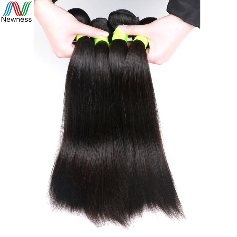 Newness 6A Indian Straight Virgin Hair Weave Bundles Hot Sale Beauty Unprocessed Human Hair 4Pcs/Lot Soft Cheap Product NC6A-B<br><br>Aliexpress