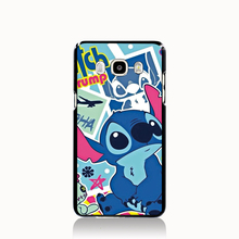 05469 lilo stich blue cell phone case cover Samsung Galaxy J1 MINI J2 J3 J7 ON5 ON7 J120F 2016 - Clio Vogue Mall store