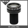 4K LENS 7 2MM Lens 1 2 3 Inch 10MP IR 47D HFOV NON Distortion for