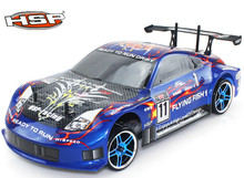 HSP 94123 Baja rc Drift Car 1/10 4wd On Road Racing Brushless or brushes Car FlyingFish High Speed Hobby Models p1