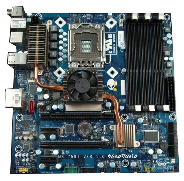 Envío gratis MS 7591 H869M 0H869M placa madre de escritorio para Alienware Aurora ALX i7 X58