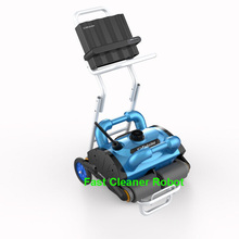 Free Shipping 2016 Newest coming Wall Climb Swimming Pool Robot Cleaner Swimming Pool Automatic Cleaning Equipment iCleaner-200(China (Mainland))