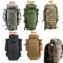 Military USMC Army Tactical Molle Hiking Hunting Camping Rifle Backpack Bag(China (Mainland))