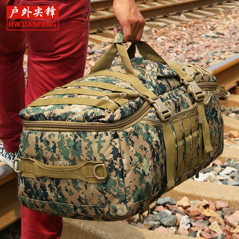 Outdoor spikeing Camouflage multifunctional bag large capacity bag military tactical backpack handbag luggage 60l<br><br>Aliexpress