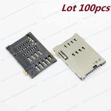 Lot 100pcs New OEM Sim Card Reader Slot For Huawei S7-601U S7-932U S10-201L S10-231u S7-611 721U(China (Mainland))