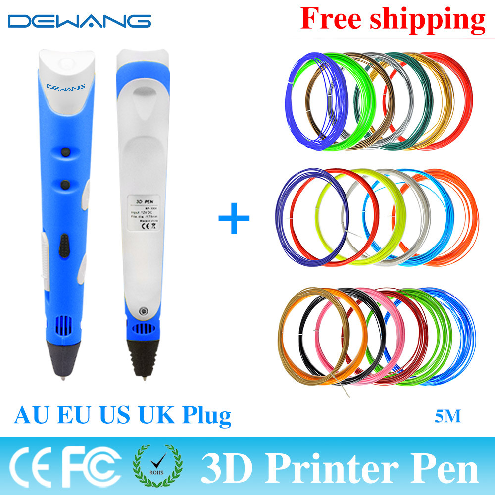 Direct Manufacturer 3D printing pen made in China hot sale DEWANG Brand FOR children With 20