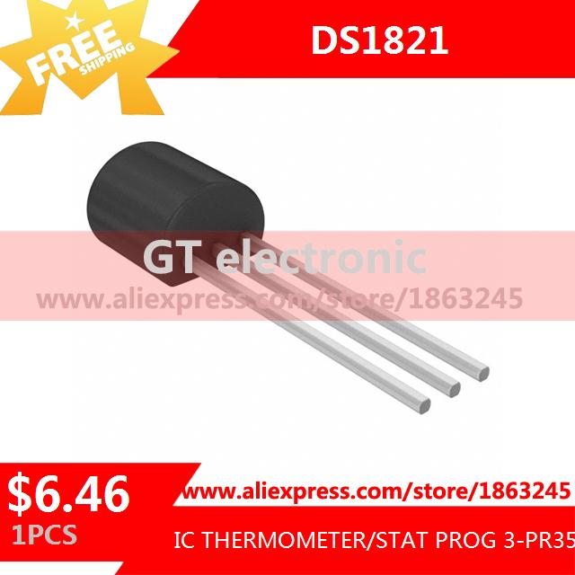 Free Shipping Electronic Voltage Regulator DS1821 IC THERMOMETER/STAT PROG 3-PR35 1821 1pcs(China (Mainland))