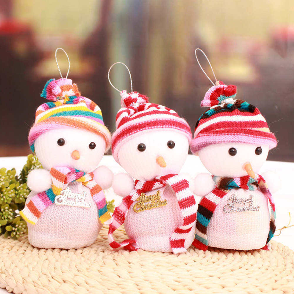 3PCS Christmas Decoration Snowman Apple Box Gift Bags 2016 New Year Cute Snowman Merry Christmas Apple Gift Children Toy KC1269(China (Mainland))