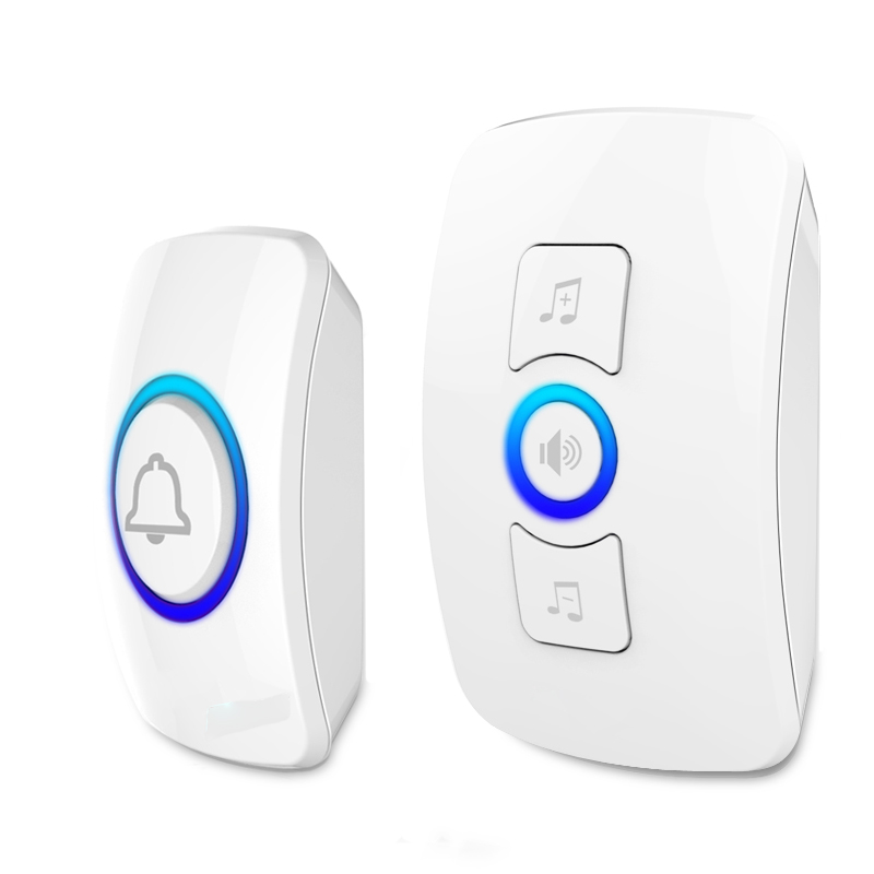 Wireless Panic Button Door Bell for Home Alarm System Security Emergency Calling&amp;Doorbell System  1 Receiver Door bell 1 Button <br><br>Aliexpress