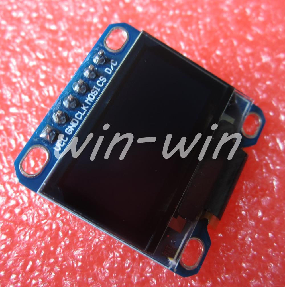 "2PCS Yellow Blue 0.96"" SPI 128X64 OLED LCD Display /STM32/AVR/51(China (Mainland))"