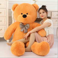 1pcs 100cm Plush toys large size 1m / teddy bear 100cm/big 4 colors embrace bear doll /lovers/christmas gifts birthday gift(China (Mainland))