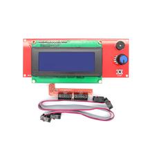 Free shipping !! 3D printer reprap smart controller Reprap Ramps 1.4 2004 LCD control