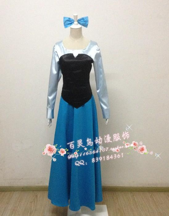 The Little Mermaid Cosplay Costume Princess Ariel Uniform Party Dress Ball GownОдежда и ак�е��уары<br><br><br>Aliexpress