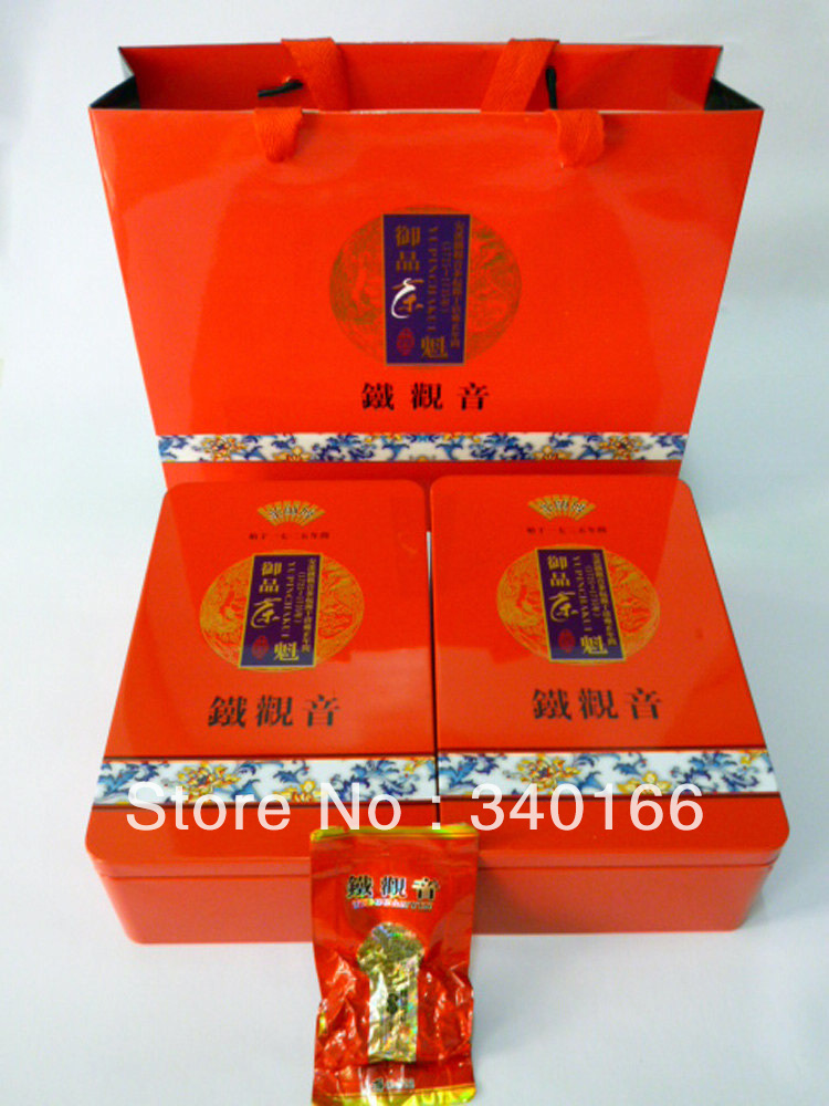 2013-ES004 HOT NEW TEA China organic Tie GuanYin tea, weight loss Oolong tea,Health teas- 500g(China (Mainland))