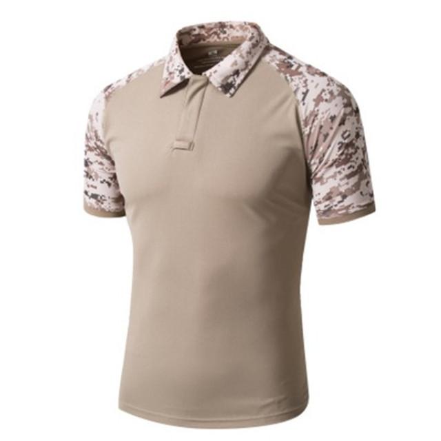 Men s camouflage t shirt description 1 style man s for Camo polo shirts for men