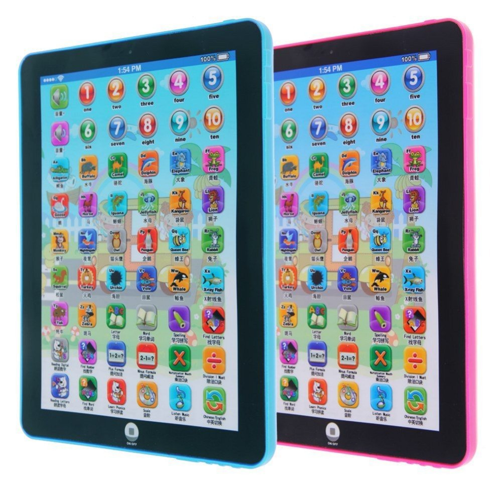Kid Children Learning English Educational Computer Mini Tablet Teach Toy Hot English and Chinese(China (Mainland))