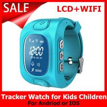 2016 New Arrial GPS GSM Wifi Tracker font b Watch b font for Kids Children Smart