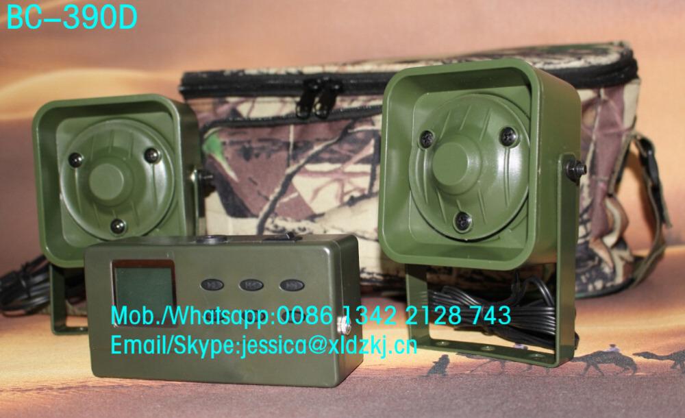 cheap quail decoy 390 bird caller hunting mp3  with mini mp3 speaker<br>