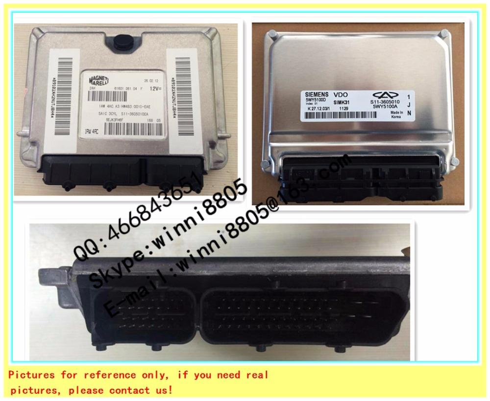 For Chery QQ car engine computer board/ECU/ Electronic Control Unit/Car PC/ IAW 4AC.A60/IAW 4AC A60 /Trip computer(China (Mainland))