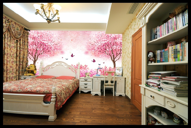 buy romantic cherry blossoms tree large. Black Bedroom Furniture Sets. Home Design Ideas
