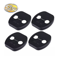 4pcs lot Waterproof And Rust proof Auto Accessories Of Car Door Lock Buckle Cover Case For