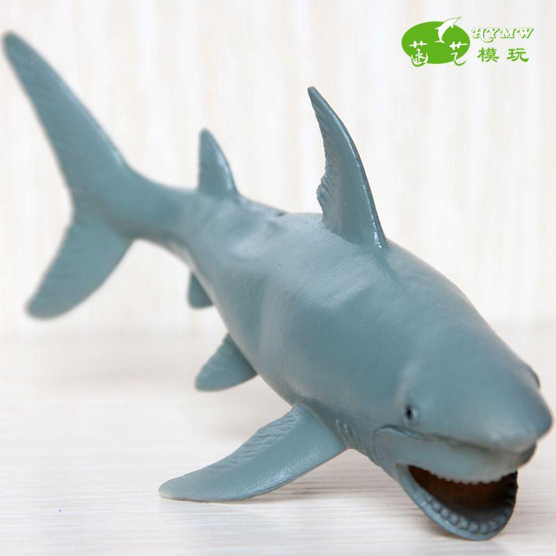Simulation Great white shark Model items of marine animals and children's gift toys(China (Mainland))