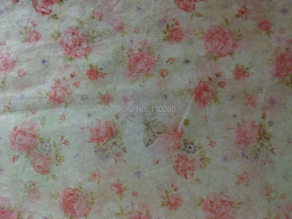 Vintage Flowers Design Acidfree Gift Wrapping Paper , 50x40 cm, 12 - Pearl Packaging Group Limited store