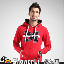 Hoodies & Sweatshirts European and American fashion hooded New autumn and winter printing hedging 16026(China (Mainland))