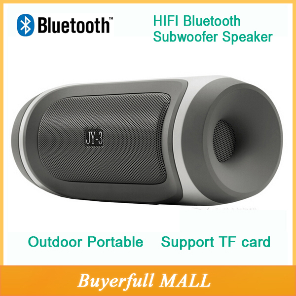 Wireless outdoor Portable Bluetooth Speaker loudspeakers mini music JY-3 speakers sound box with FM radio For Phone MP3 computer(China (Mainland))