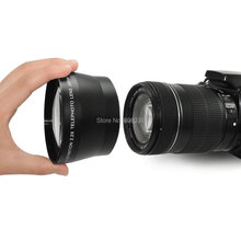 67mm 2.2X High Definition Digital Telephoto Lens for Canon Nikon OLYMPUS Pentax Sony Free Shipping(China (Mainland))