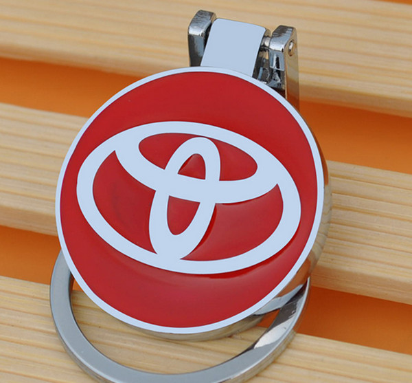 Fashion Metal Car Keychain For Toyota keyring keychain key chain For Toyota auto pendant Chaveiro Llavero Key Holder(China (Mainland))