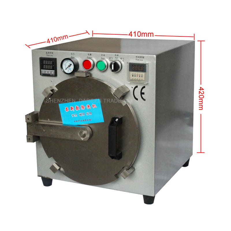 Free by DHL 2015 Third Generation Autoclave OCA LCD Bubble Remove Machine Lager size for Glass Refurbish without screws locked<br><br>Aliexpress