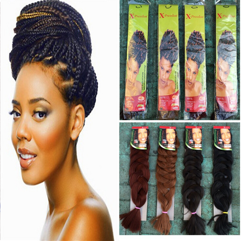 Crochet Braids San Antonio : -Synthetic-Braiding-Hair-Kanekalon-Jumbo-Braid-X-pression-Ultra-Braid ...
