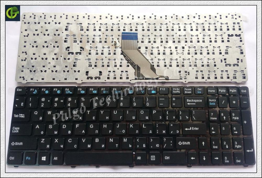 Russian Keyboard for DNS 0157894 0157896 0157899 0157900 0164780 ECS MT50 MT50II1 MT50IN RU MP-09Q36SU-360 82B382-FR7025 Black(China (Mainland))