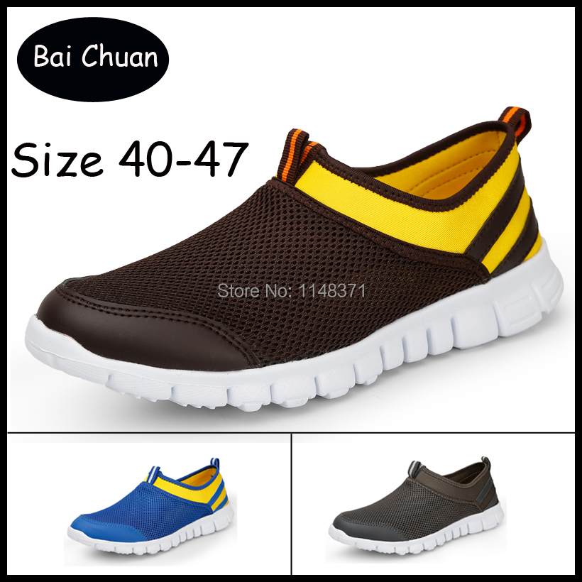 2015 New comfortable breathable men sneakers super light men shoes brand sport shoes quality men shoes