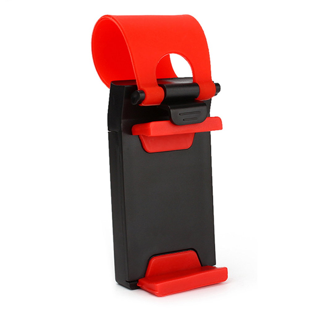 Universal Car Steering Wheel Mobile Phone Holder Rubber Band Clip Bike Cradle For iPhone 4S 5S 6 Samsung Cell Phone #iCarmo(China (Mainland))