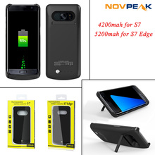 High Quality Super Slim External Backup Charger Case Power Bank Battery Protective Cover for Samsung Galaxy S4 S5 S6 S7 edge(China (Mainland))