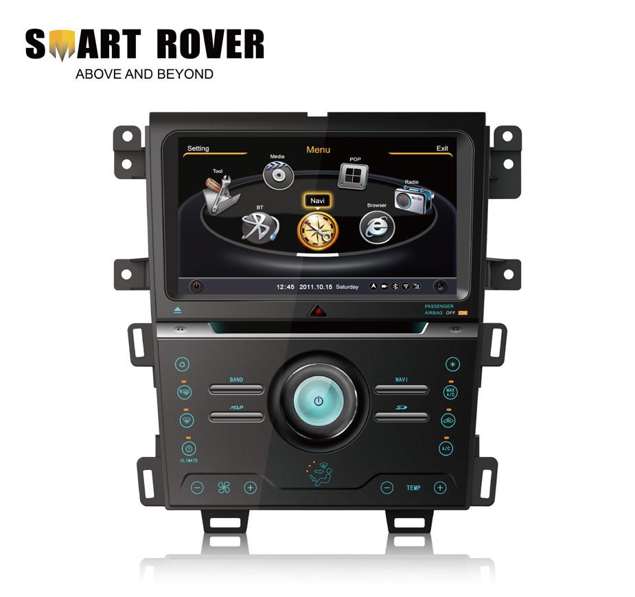 S100 Car DVD For Ford Edge 2013 2014 GPS Navi Radio RDS Audio Video Player Bluetooth TV iPod 3G WiFi Steering Wheel Control(China (Mainland))