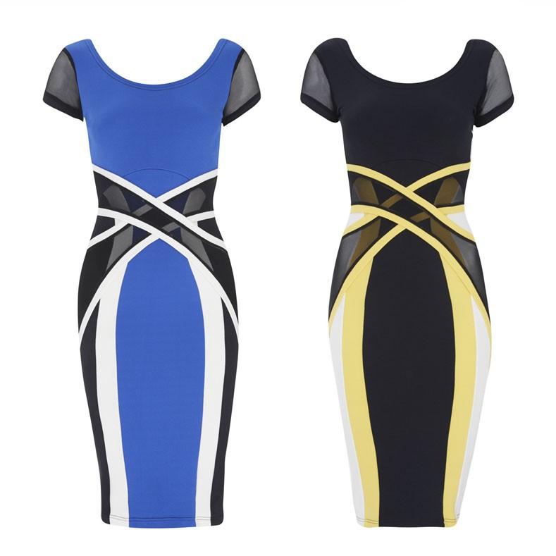 Женское платье OEM Vestidos Celeb 2015 Vestido 9264